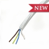 Cable whit colored Film and transparent sheath