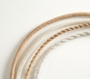 Flexible cable in paper material